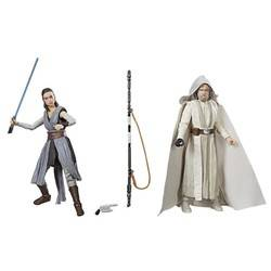 Luke Skywalker (Jedi Master) & Rey (Jedi Training)