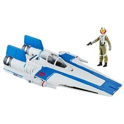 Resistance A-Wing Fighter & Resistance Pilot Tallie