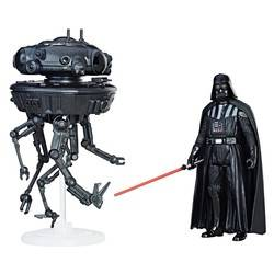 Imperial Probe Droid & Darth Vader