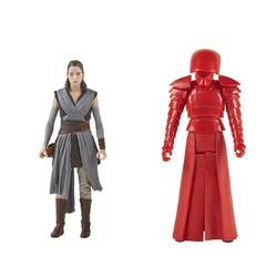 Rey (Jedi Training) & Elite Praetorian Guard - 2 Pack - Force Link