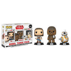 3 Pack - Rey, Chewbacca and BB-8