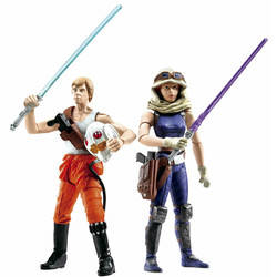 Comic Pack - Mara Jade & Luke Skywalker