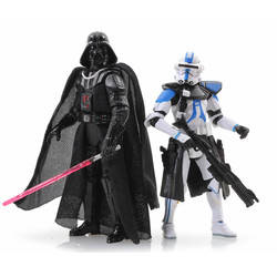 Order 66 - Darth Vader and Commander Bow