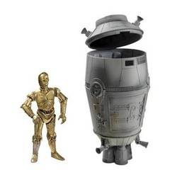 C-3PO with Escape Pod, Tatooine Escape