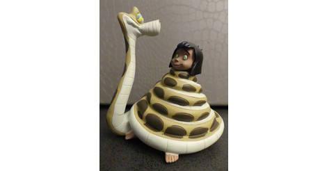 le livre de la jungle mowgli et kaa figurine disney hachette. Black Bedroom Furniture Sets. Home Design Ideas