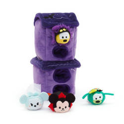 Haunted House Plush Set Plus 4 Micros
