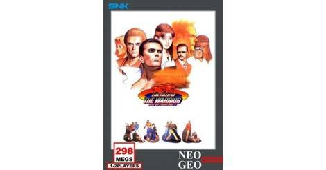 Art Of Fighting 3 The Path Of The Warrior Neo Geo Aes Game