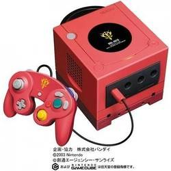 GameCube Gundam Char's Customized box