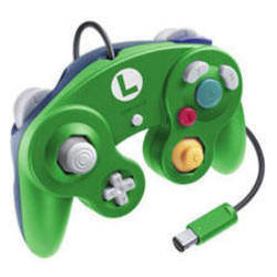 Manette Gamecube Luigi - Nintendo Club