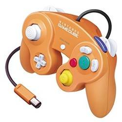 Manette Gamecube orange (Japan)