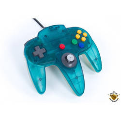 Manette Nintendo 64 Clear Blue