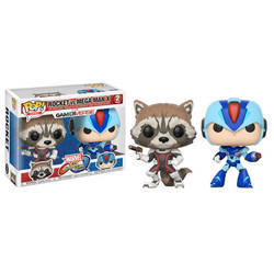 Marvel Vs Capcom - Rocket Vs Mega Man X 2 Pack