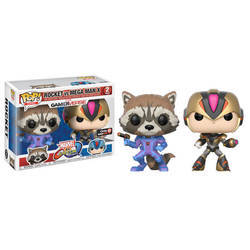 Marvel Vs Capcom - Rocket Vs Mega Man X 2 Pack Variant Color