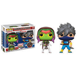 Marvel Vs Capcom - Gamora Vs Strider 2 Pack Variant Color