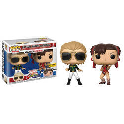 Marvel Vs Capcom - Captain Marvel Vs Chun Li 2 Pack Variant Color
