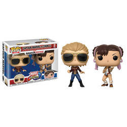 Marvel Vs Capcom - Captain Marvel Vs Chun Li 2 Pack