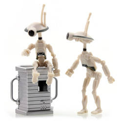 Pit Droids 2-pack with accessory 1 (white)
