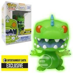 Rugrats - Reptar Green Glows In The Dark