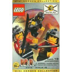 Three Minifig Pack - Ninja #2