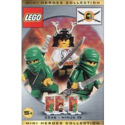Three Minifig Pack - Ninja #3