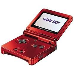 Game Boy Advance SP Flame Red/Frontlit