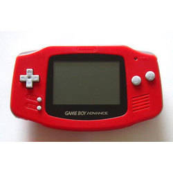 Game Boy Advance Zellers Red