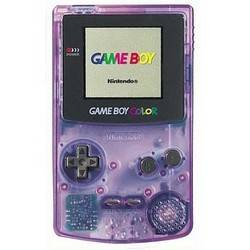Game Boy Color Atomic Purple/Clear Purple