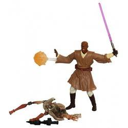 Mace Windu with Blast Apart Battle Droid