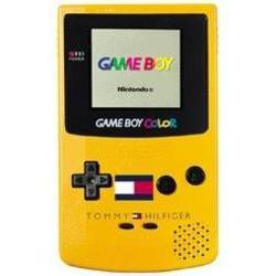 Game Boy Color Tommy Hilfiger Yellow with logo