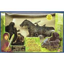 Ringwraith, Frodo and Horse