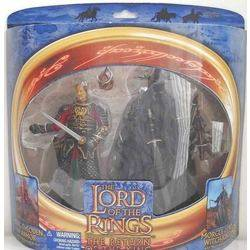 King Theoden in Armor and Morgul Lord Witch King