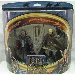 Pelennor Fields Aragorn and Legolas in Rohan Armor