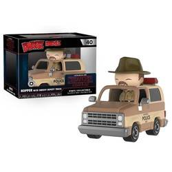 Stranger Thing - Hopper with Sheriff Deputy Truck