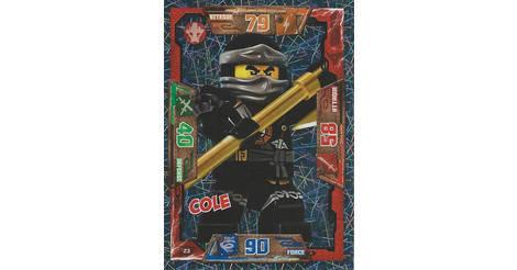 Cole cartes lego ninjago 023 - Carte ninjago ...