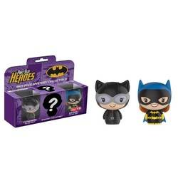 Batman 3 Pack – Catwoman Black Suit, Batgirl Silver Age and Mystery