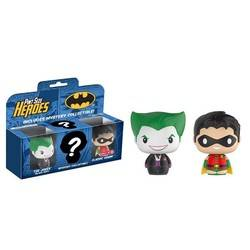 Batman 3 Pack – The Joker, Robin Classic and Mystery