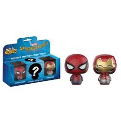 Spider-Man Homecoming 3 Pack – Spider-Man, Iron Man and Mystery