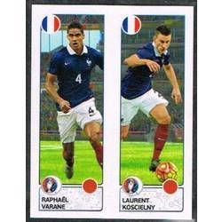 Raphaël Varane / Laurent Koscielny - France