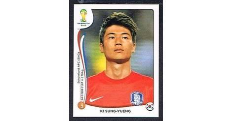 Panini 629 Lee Yong Korea Republic FIFA WM 2014 Brasilien
