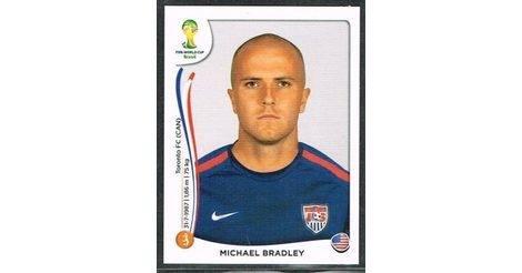 2714c1e70 Michael Bradley - USA (555). Fifa World Cup Brasil 2014