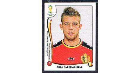 Panini 568 Toby Alderweireld Belgien FIFA WM 2014 Brasilien
