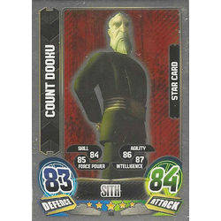 Star Card :  Count Dooku