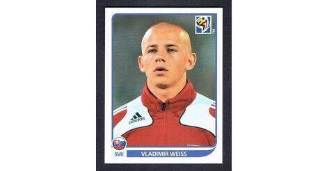 476 Panini WORLD CUP 2010-Vladimir Weiss Eslovaquia no