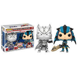 Marvel Vs Capcom - Black Panther White  Vs Monster Hunter 2 Pack
