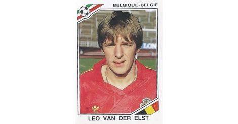 0a90c39300d Leo Van Der Elst - Belgique - Mexico 86 World Cup 136