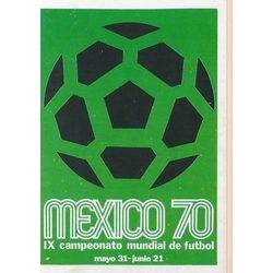 Poster Mexic 1970