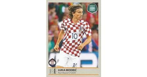 b980a2b2a66 Luka Modric - Croatia (26). Road to 2018 - FIFA World Cup Russia.  Collections · Panini Stickers ...