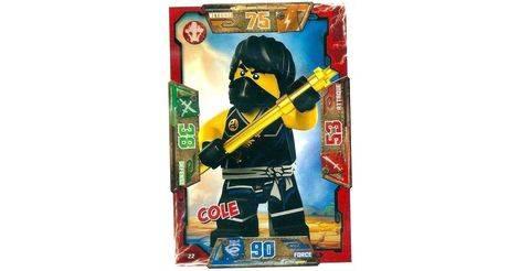 Cole cartes lego ninjago 022 - Carte ninjago ...