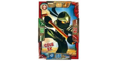 Cole zx cartes lego ninjago 020 - Carte ninjago ...