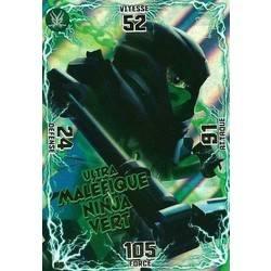 Wrayth cartes lego ninjago 072 - Ninja vert lego ...